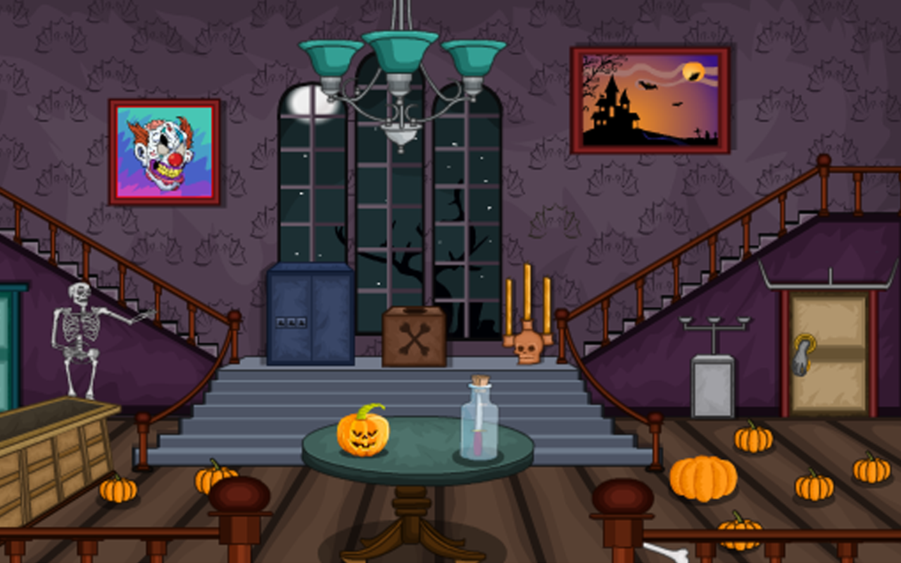 Escape puzzle halloween room 1 android apps on google play for Escape puzzle