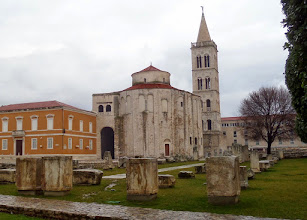 Photo: The 9th century Donat Church was built on an old Roman forum using some of the Roman stones, many of which remain today.