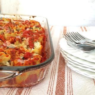Kale Stuffed Lasagna Rolls