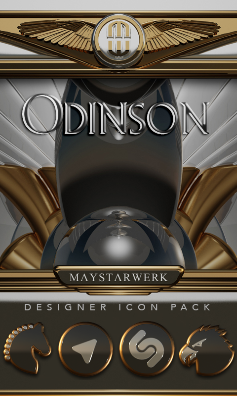 Odinson HD Icon Pack- screenshot