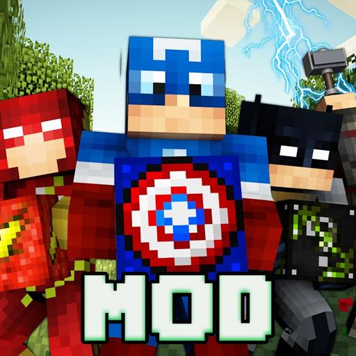 Mod Superhero for Minecraft pe