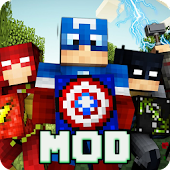 Mod Superhero for Minecraft pe