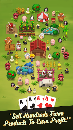 Solitaire Idle Farm - Card Game Free 1.2.0 screenshots 1