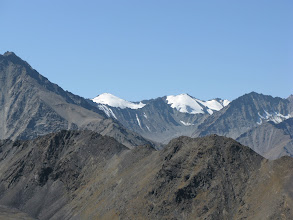 Photo: Tegermach mountains, view from Geologist pass