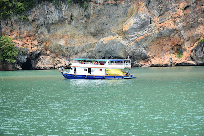 Arrival at Panak Island in Phang Nga Bay