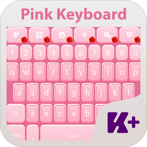个人化のPink Keyboard Theme LOGO-記事Game