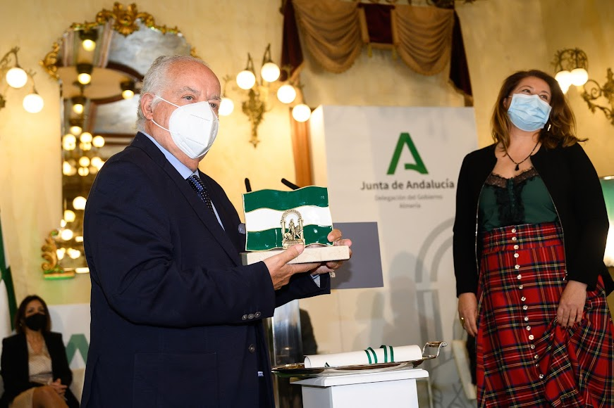 José María Rosell recoge el reconocimiento por su trayectoria