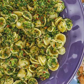 Rachael's Orecchiette with Broccoli Rabe Pesto.