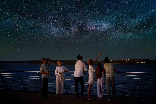 Take advantage of the stupendous stargazing during your visit to the Galapagos.
