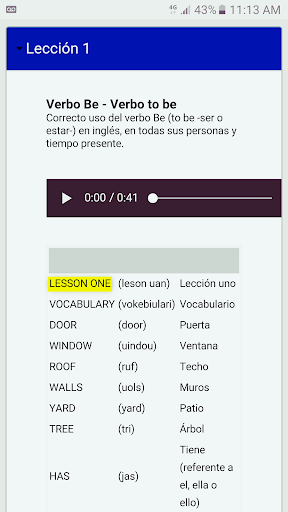 Curso de Ingles Gratis screenshot