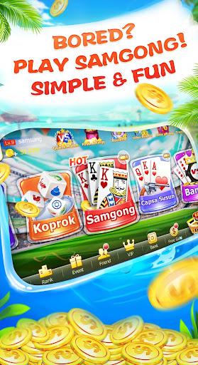 Samgong Sakong - free samgong game for indonesia 1.7.0 screenshots 1