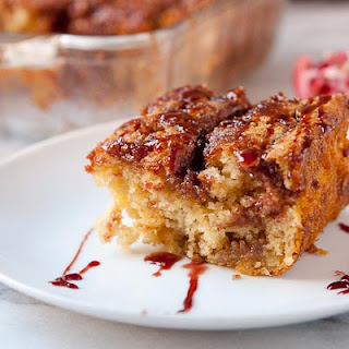Pomegranate Coffee Cake