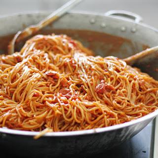 Filipino Spaghetti.