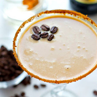 Easy Chocolate Caramel Espresso Martini