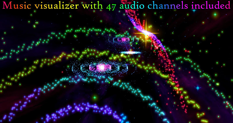 3D Stars Journey Music Visualizer Pro APK Cracked Free Download