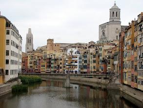 Photo: Next stop, Girona -- originally a Roman settlement inside medieval walls with a large Jewish quarter.