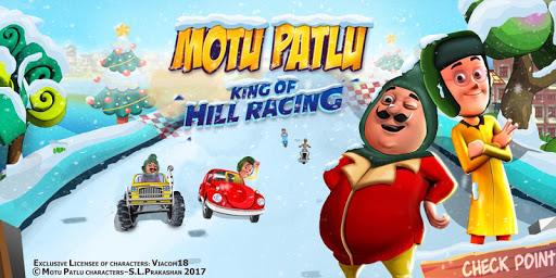 Motu Patlu King of Hill Racing android2mod screenshots 1