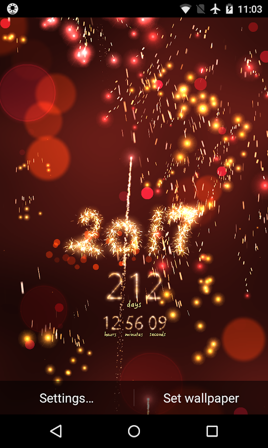 New Year Countdown- screenshot