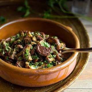 Marinated Eggplant with Green Chermoula.
