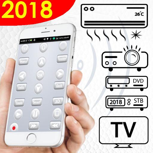 AC & TV, DVD, Set Top Box - Remote control IR Icon