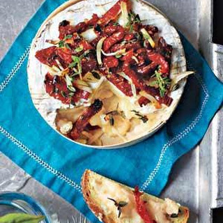 Baked Camembert With Sun-Dried Tomatoes