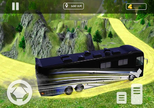 Real Offroad Bus Simulator 2020 Tourist Hill Bus 3.5 screenshots 1