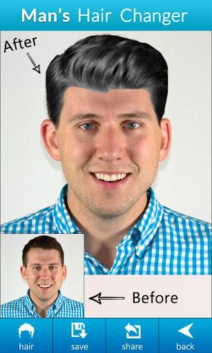 Man Hair Changer