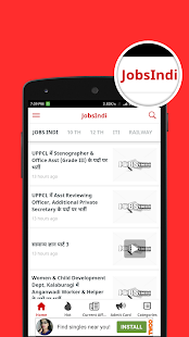 JobsIndi ~ Latest Govt Jobs , Results, & Syllabus- screenshot thumbnail