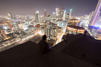 Photo: Rooftop Inception, Part I Part I of Rooftop Inception. A series of II. Self portrait featuring +Ronnie Yip as the silhouette in the distance.  #toronto #skyline #rooftopping #urbex #urbanexploration #selfportrait