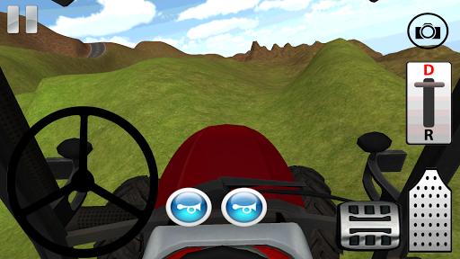 Tractor hill climb racing 3D