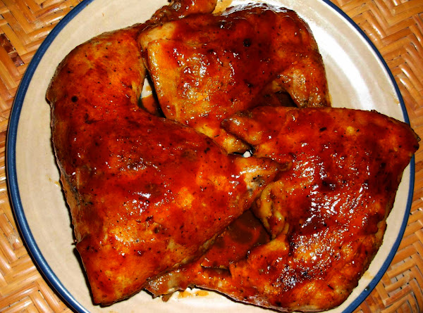 Easy Oven Barbecued Chicken Recipe