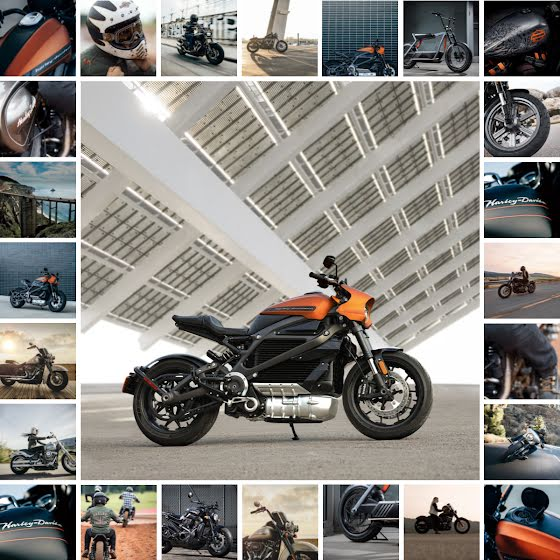 Motorcycle Collage - Instagram Post Template