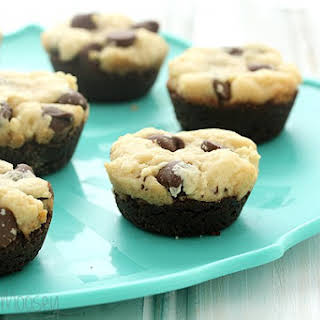 Chocolate Chip Cookie Brownie Bites.