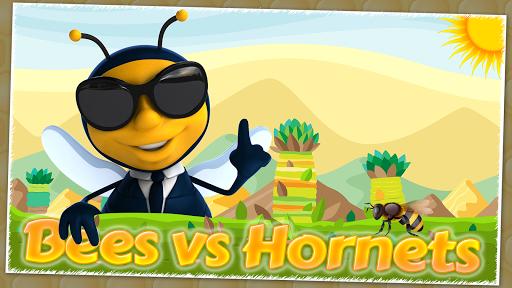 Bees vs Hornets : Honey Wars