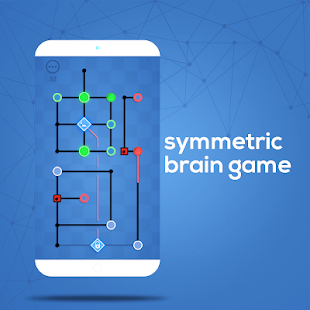 Dots Sync - Symmetric Brain game Screenshot