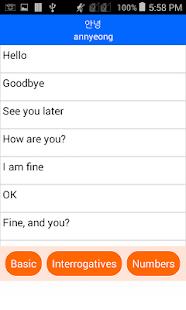 Talk - Speak Learn Korean - náhled