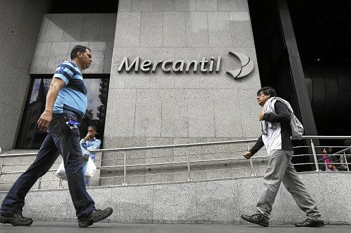 A Mercantile Bank branch in Venezuela. Picture: Reuters