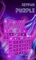 Screenshot of Keypad Purple Cheetah