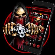 App Devil Skull Gun Theme APK for Windows Phone