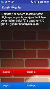 Komik Mesajlar screenshot 0