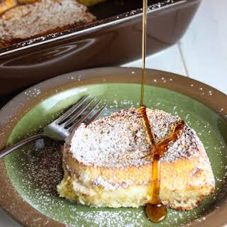 Overnight Vanilla French Toast.