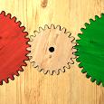 Gears logic puzzles premium icon