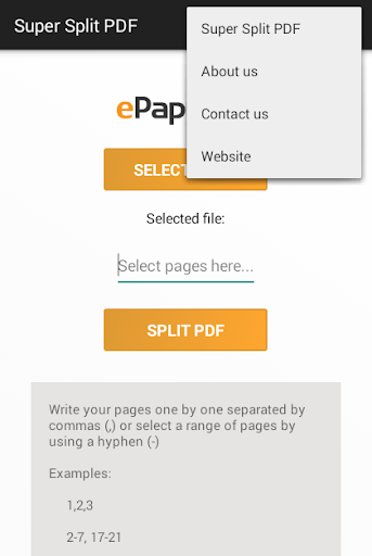 Super Split PDF