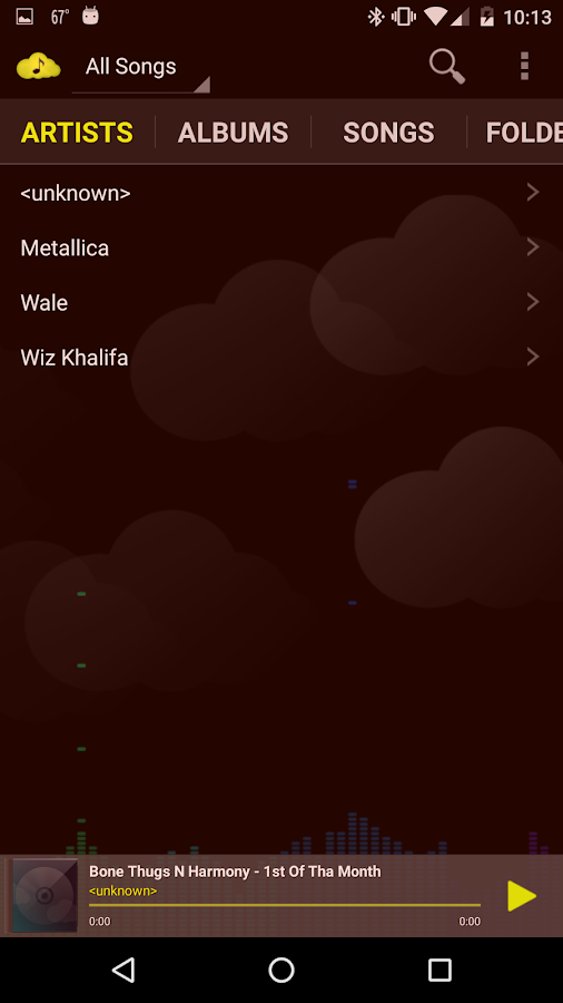 CloudAround Music Player Pro- screenshot