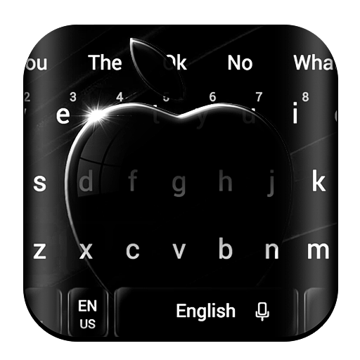 Jet Black Apple Keyboard