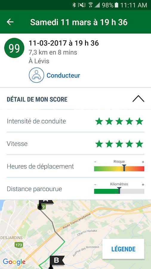 Desjardins assurances auto ha applications android sur for Assurances maison desjardins