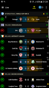 PRO Live Scores S-Center Screenshot