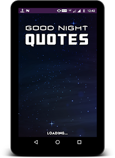 Good Night Quotes in English - náhled