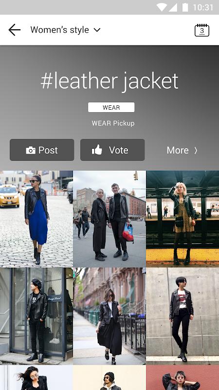 WEAR - Fashion Lookbook screenshots