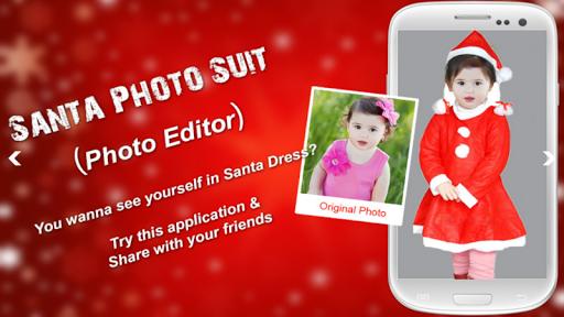 Santa Photo Suit Photo Editor